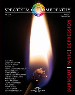 Spectrum of Homeopathy 2012-2, Burnout - Panic - Depression - E-Book, Narayana Verlag