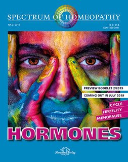Spectrum of Homeopathy 2019-2, HORMONES - Cycle, Fertility, Menopause - E-Book, Narayana Verlag