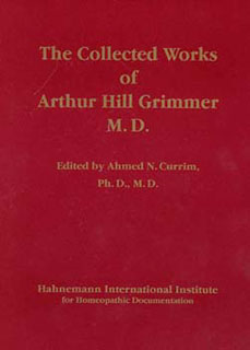 The Collected Works of Arthur Hill Grimmer, Arthur Hill Grimmer / Ahmed N. Currim