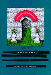 The Elements of Homoeopathy Vol 1&2 - Imperfect copy, Pichian Sankaran