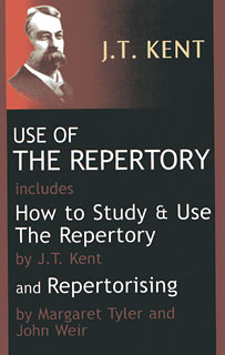 Use of the Repertory, James Tyler Kent / Margaret Lucy Tyler / John Weir
