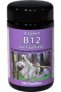 Vitamin B12 1,000 µg - from Robert Franz - 100 Pastilles