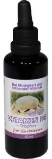 Vitamin D3 drops for armadillos 50ml - of Robert Franz