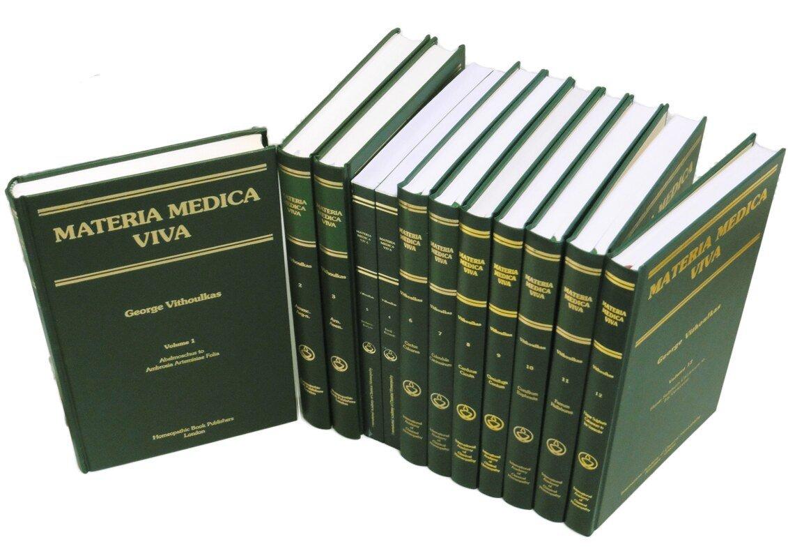 Materia Medica Viva 1-12 engl., George Vithoulkas - Narayana Verlag