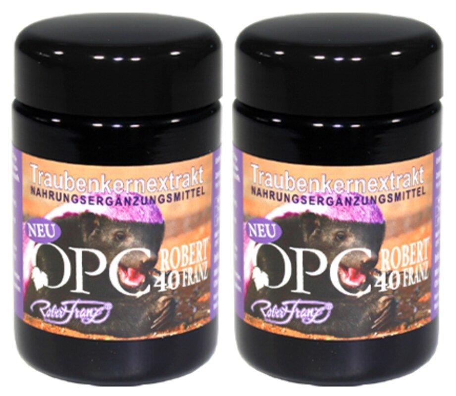 OPC 133 von Robert Franz   Traubenkernextrakt   2 x 60 Kapseln. Narayana Verlag  Homeopathy  Natural healing  Healthy food